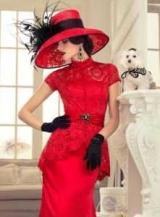 Лучшие аксессуары к красному платью: фото и советы