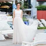 Белая длинная юбка: с чем носить?