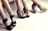 С открытым носком туфли с носками: тенденции моды, с чем и как носить
