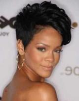 Черный короткие волосы: варианты прически и стрижки, советы по подбору, фото