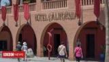 Орлы уладить дело отель Калифорния
